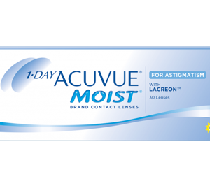 1-DAY ACUVUE MOIST for ASTIGMATISM (90 linser)