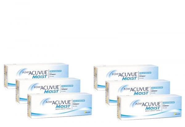 1-DAY Acuvue Moist for Astigmatism (180 linser)