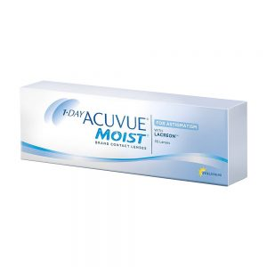 1-Day Acuvue Moist For Astigmatism, 30-pk