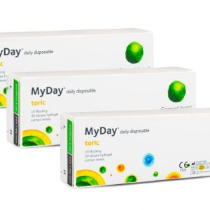 MyDay daily disposable Toric CooperVision (90 linser)